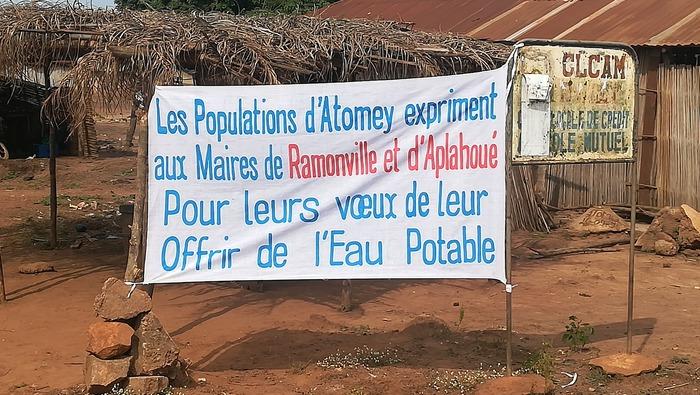 La coopération entre Ramonville et la ville d'Aplahoué au Bénin