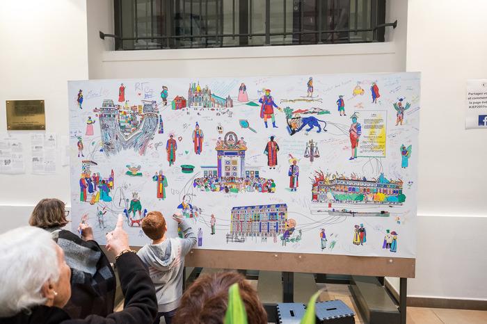 Journées du patrimoine 2018 - La Cour des comptes ouvre ses portes aux enfants