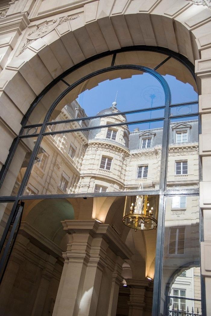 Journées du patrimoine 2017 - La Cour des comptes ouvre ses portes aux enfants (fresque et quizz)