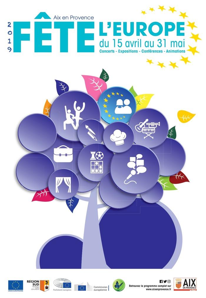 La Fête de l'Europe à Aix-en-Provence