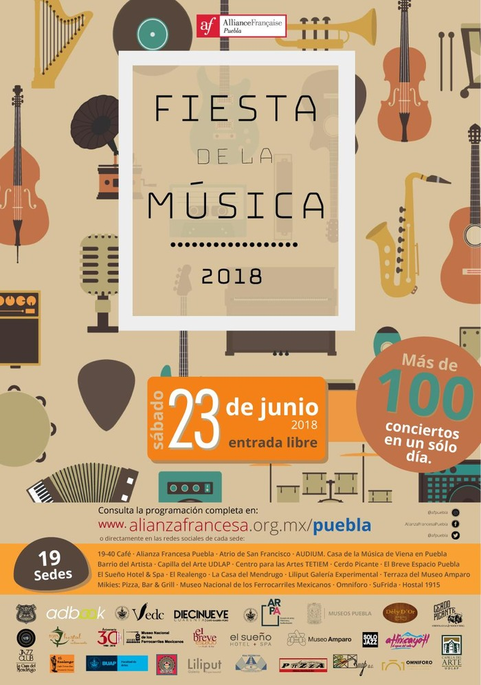 La Fête De La Musique Puebla 2018