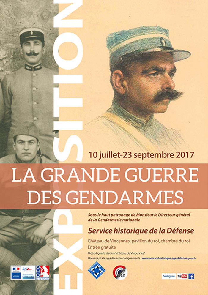 Journées du patrimoine 2017 - La Grande Guerre des gendarmes