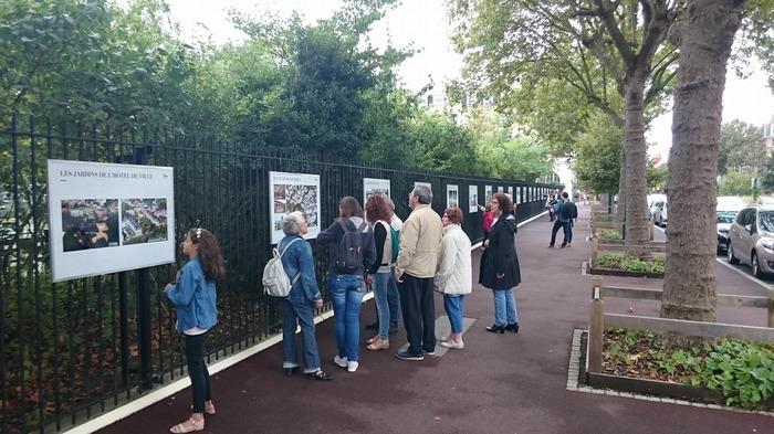 Journées du patrimoine 2018 - La Grande Guerre en images - Exposition sur les grilles du Jardin de Robinson