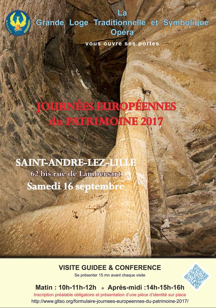 Journées du patrimoine 2017 - Visite commentée suivie d'une conférence