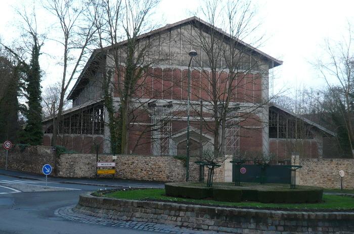 Journées du patrimoine 2018 - « La Grande Perspective du Château de Meudon (partie sud) : le bassin hexagonal de Chalais et le hangar Y»