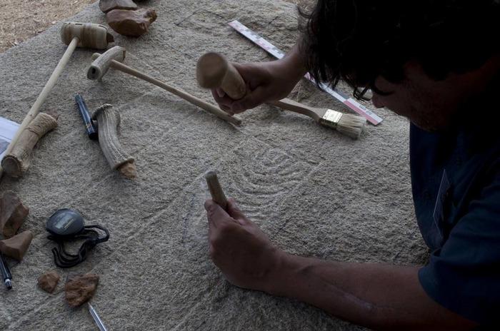 Journées du patrimoine 2018 - La gravure sur pierre au Néolithique
