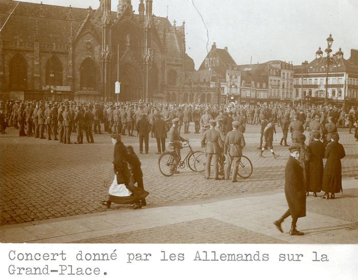 La guerre sur tous les fronts. Roubaix 1914-1918