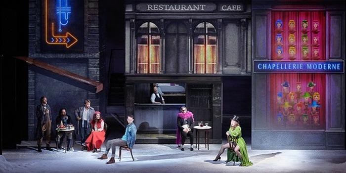 Journées du patrimoine 2018 - La guinguette de l'Opéra Comique