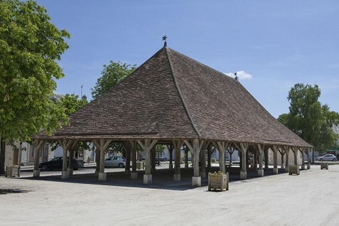 Journées du patrimoine 2018 - Visites libres des Halles de Pleumartin