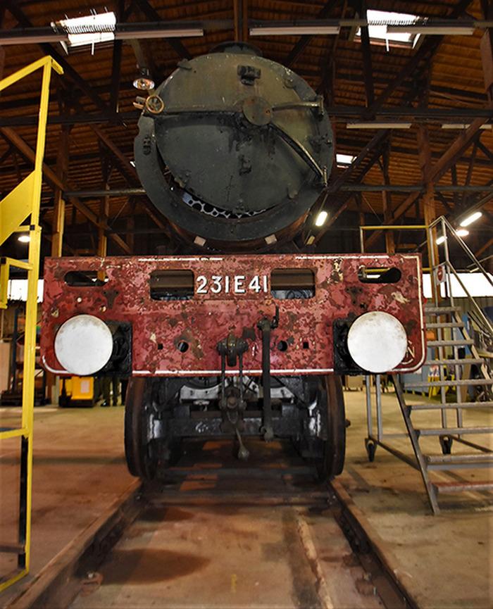 Journées du patrimoine 2018 - La locomotive Pacific 231E41 fête ses 80 ans de mise sur les rails