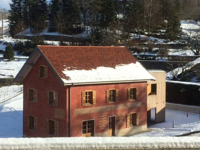 Journées du patrimoine 2017 - La maison du modèle coopératif de Salins-les-Bains