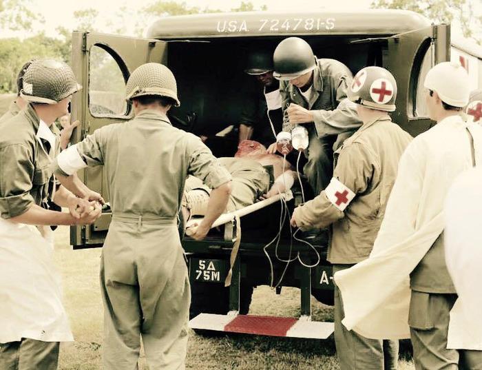Journées du patrimoine 2017 - La médecine de guerre : animation et reconstitution