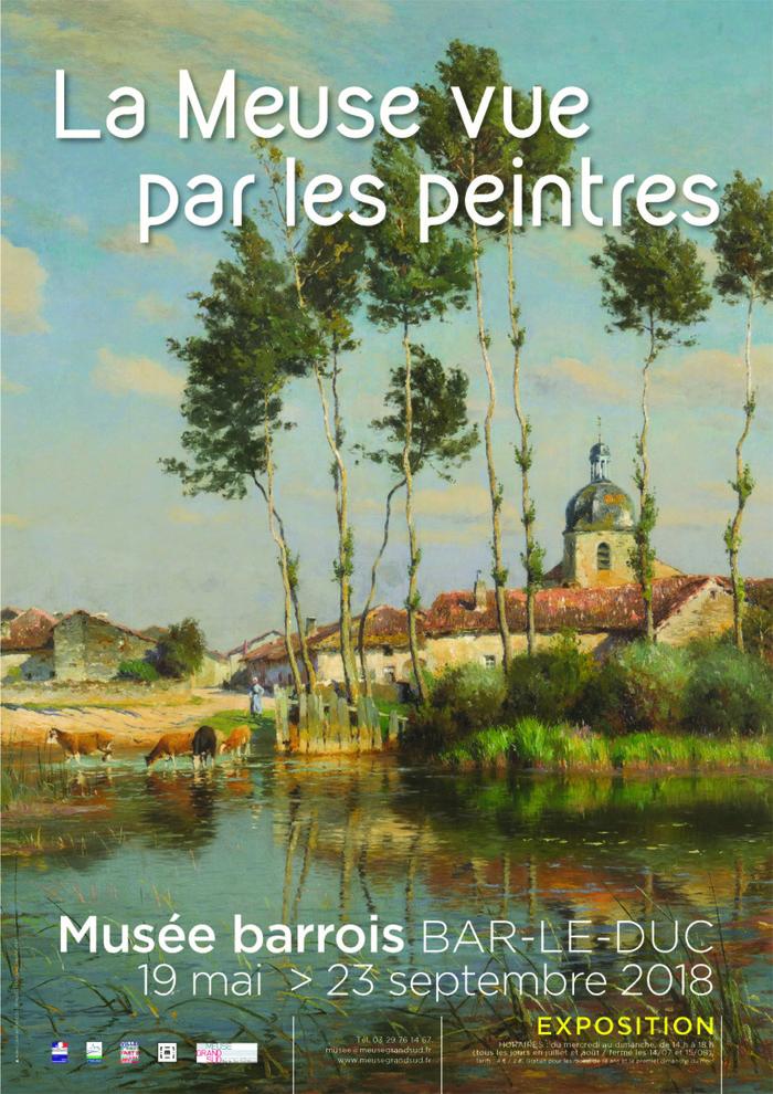 Journées du patrimoine 2018 - La Meuse vue par les peintres. Visite libre de l'exposition.