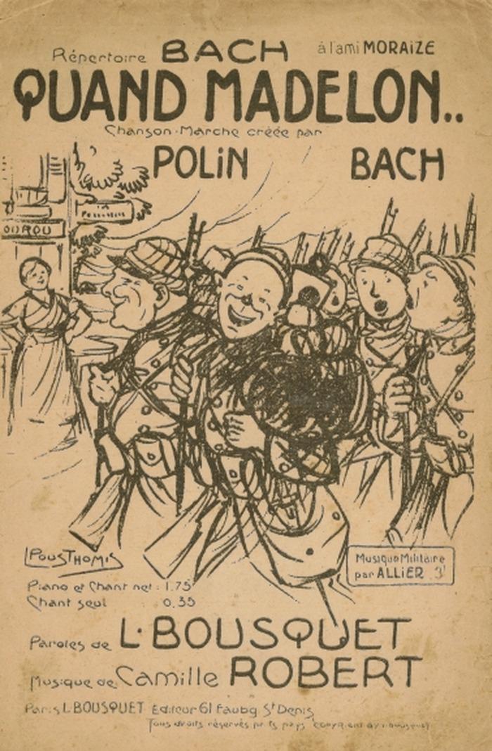 Journées du patrimoine 2018 - La musique dans les tranchées pendant la Première Guerre Mondiale