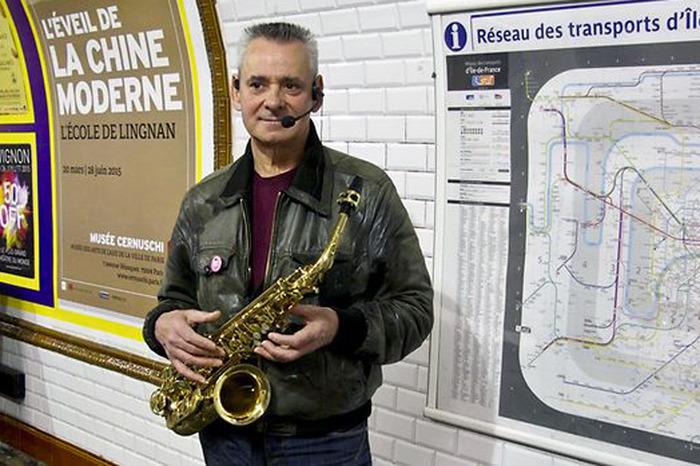La musique portugaise dans les rues de Paris #1