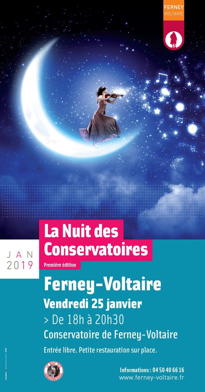 La Nuit des Conservatoires à Ferney-Voltaire