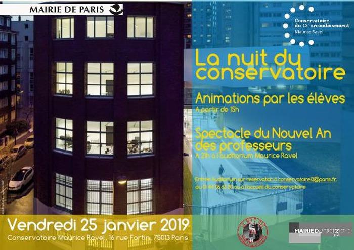 La Nuit des Conservatoires du Conservatoire Maurice Ravel (13e) - 5ème édition