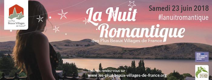 La Nuit Romantique des Plus Beaux Villages de France à Montrésor (Indre-et-Loir…