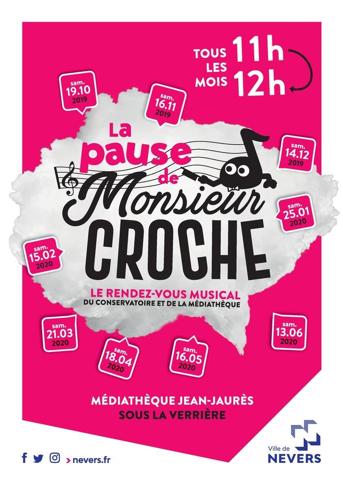 LA PAUSE DE MR CROCHE