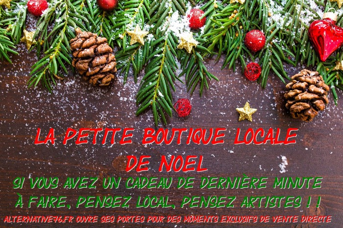 La petite boutique de Noël alternative76.fr