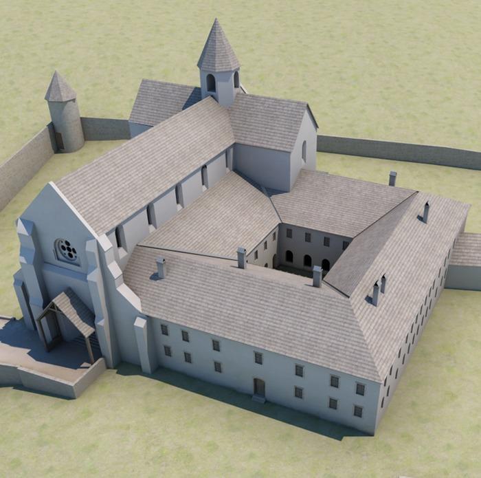 Journées du patrimoine 2018 - La réalité augmentée à l'abbaye d'Aulps.