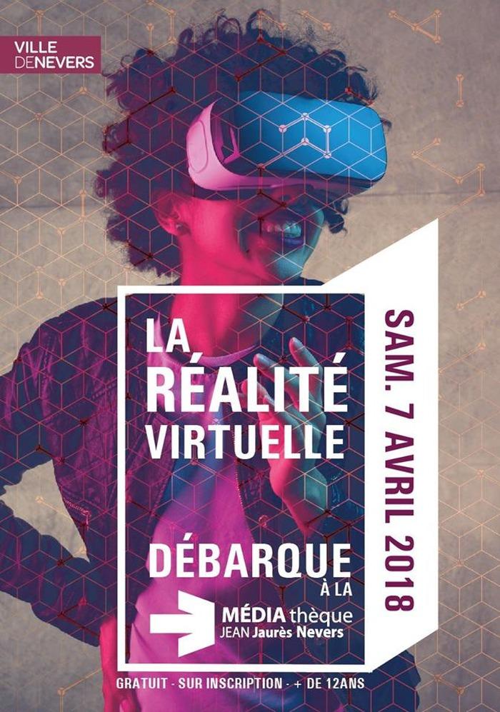 La réalité virtuelle débarque à la médiathèque Jean Jaurès