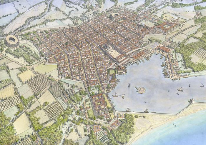Journées du patrimoine 2018 - Visite guidée : La Romanité, un patrimoine européen et méditerranéen commun