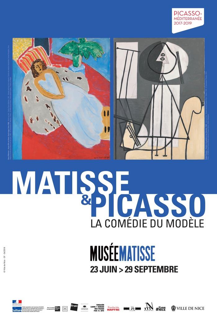 Journées du patrimoine 2018 - La séance de pose avec Matisse et Picasso