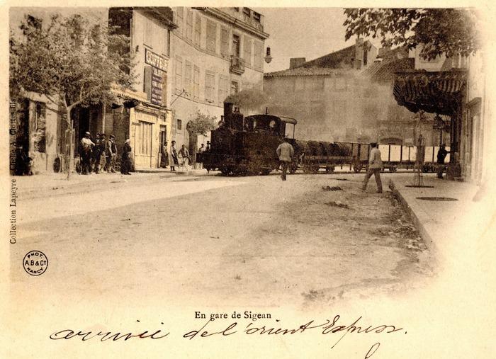 Crédits image : Carte postale ancienne appartenant à Madame Micheline CATHALA (Port-la-Nouvelle, Aude)