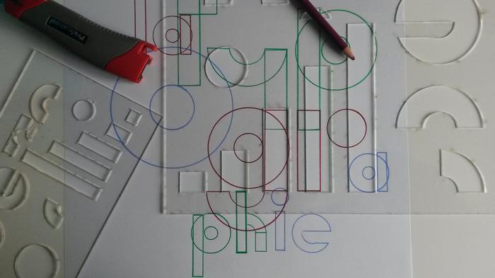 Journées du patrimoine 2018 - Atelier sur la typographie.
