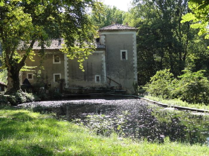 Crédits image : Moulin de Font d'Eure, archives communales, Uzès