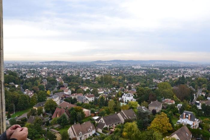 Journées du patrimoine 2018 - La vallée de Montmorency depuis le clocher de la Collégiale Saint-Martin