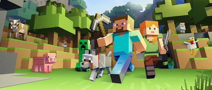La vie de château avec Minecraft à la médiathèque de St-Just St-Rambert