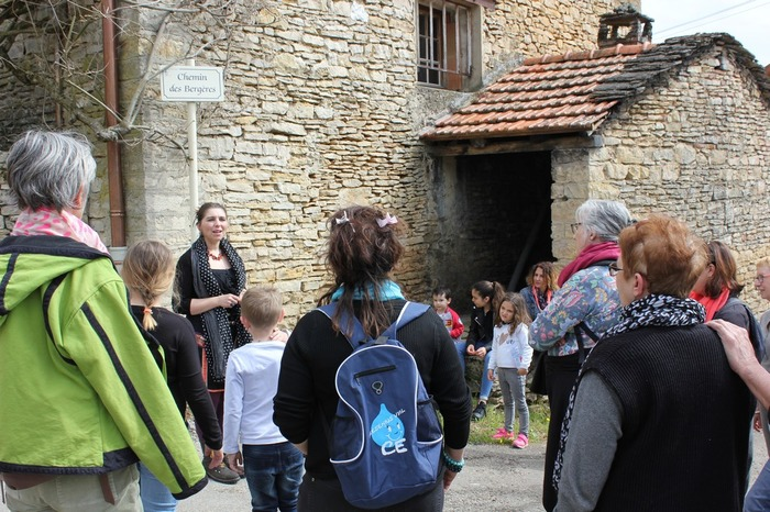 Journées du patrimoine 2018 - Parcours patrimonial dans le hameau de Moirieu et animations.