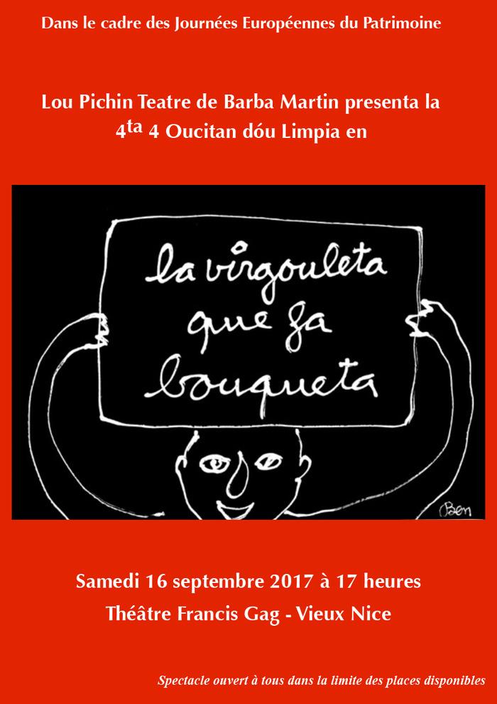 Journées du patrimoine 2017 - « La Virgouleta que fa bouqueta »