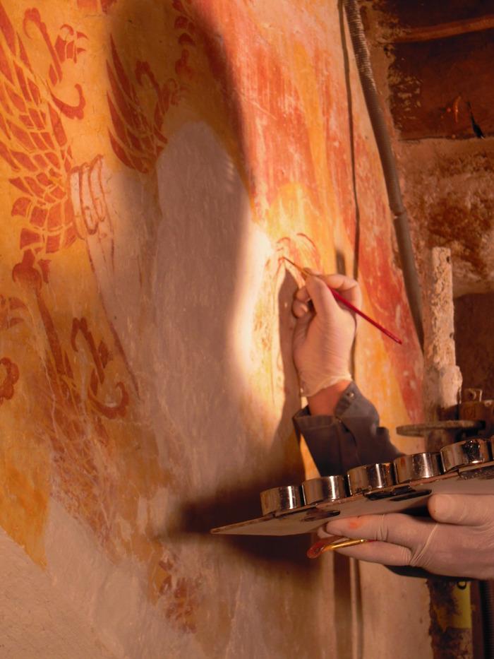 Journées du patrimoine 2017 - Lambris et peintures murales restaurées à St Jacques de Merléac