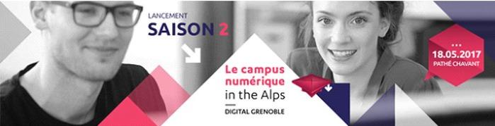 Lancement de la saison 2 du Campus Numérique in the Alps