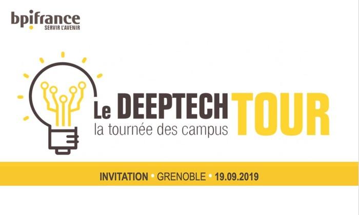Lancement du Deeptech Tour par BPI France