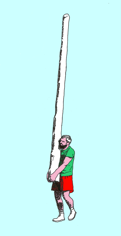 Lancer de tronc