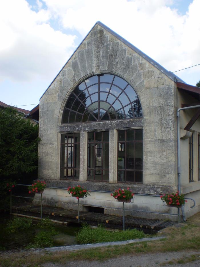 Journées du patrimoine 2018 - Lavoir de Dompierre-aux-Bois
