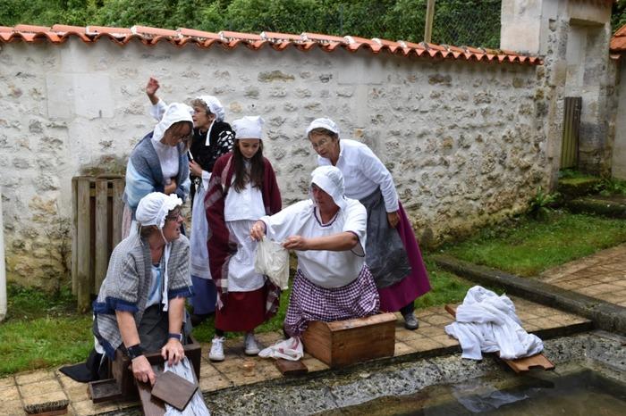 Journées du patrimoine 2018 - Lavoir de la Font Rivaud en fête