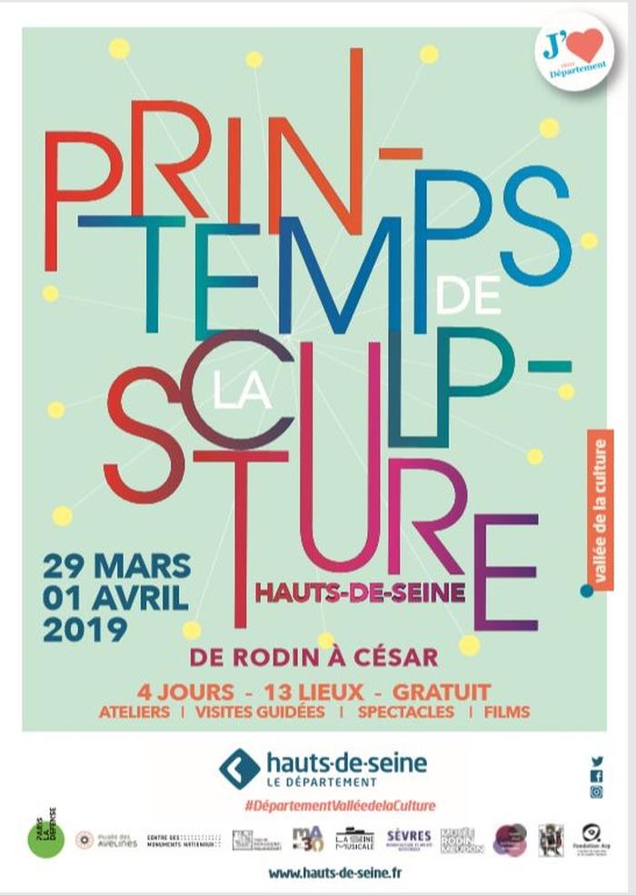 Le 1er Printemps de la Sculpture des Hauts-de-Seine