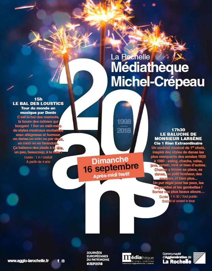Journées du patrimoine 2018 - Le bal des loustics, tour du monde en musique par Donin