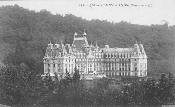 Crédits image : carte postale 1910