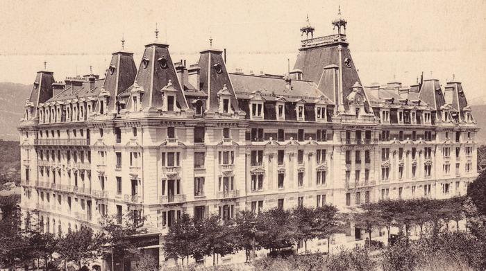 Journées du patrimoine 2018 - Le Bernascon, ancien palace 1900