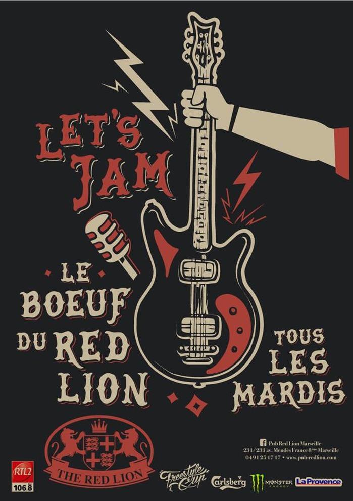 LE « BŒUF » DU RED LION