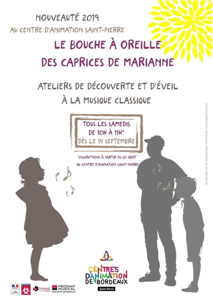 Le Bouche à Oreille des Caprices de Marianne