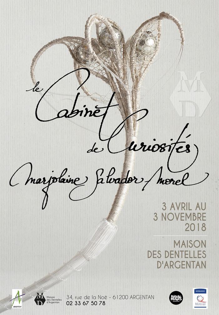 Journées du patrimoine 2018 - Exposition : le Cabinet de curiosités Marjolaine Salvador-Morel