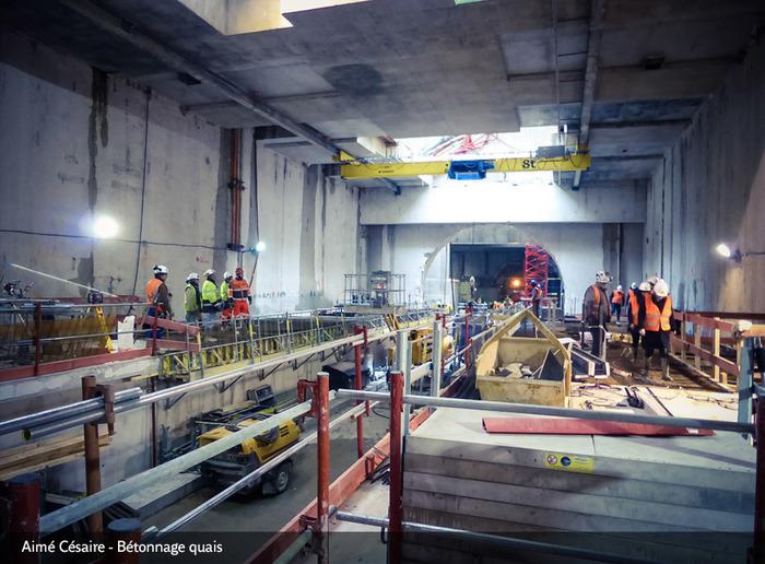 Journées du patrimoine 2018 - Le chantier du prolongement de la ligne 12