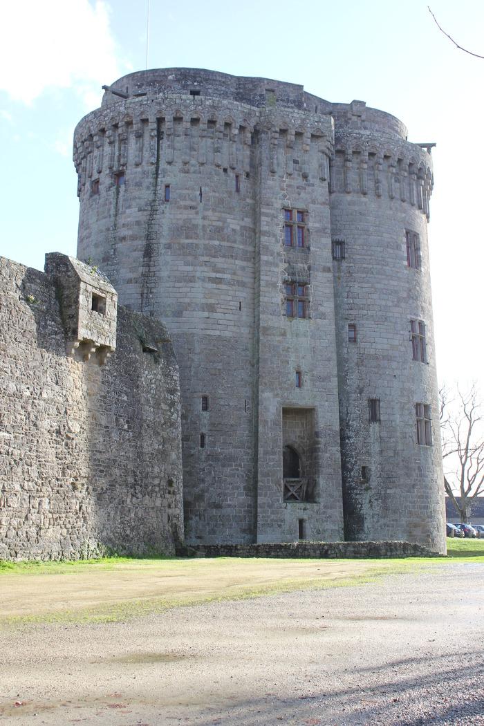 Journées du patrimoine 2018 - Le Château de Dinan, monument emblématique de la cité médiévale.
